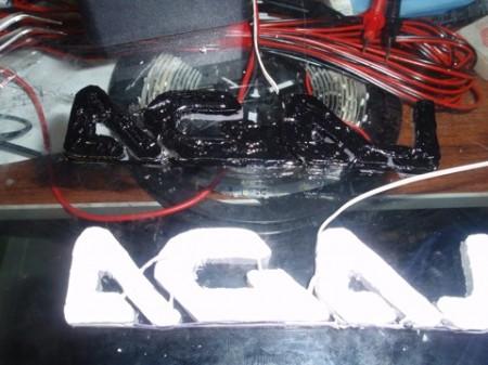 LED подсветка на брызговики ВАЗ (6)