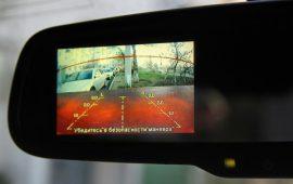 Камера заднего вида: установка