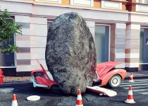 upal-kamen-na-avto